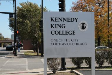 Kennedy King College canceled classes after a report of a person with a gun headed to campus, which was later found to be untrue, police said.