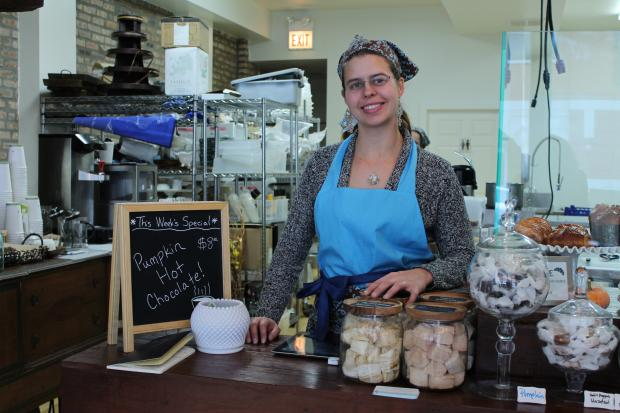 Katherine Anne Confections opened a storefront in Logan Square, Sept. 22, 2012.