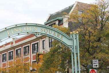 The gateway to Lincoln Square; Oct. 4, 2012.