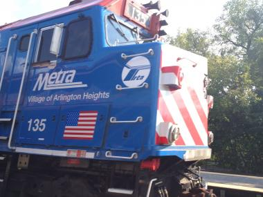 A customer refusing to pay delayed the train on the Union Pacific/North Line, officials said.