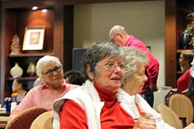 Senior citizens from the 47th Ward attend Alderman Ameya Pawar's budget town hall meeting Monday.