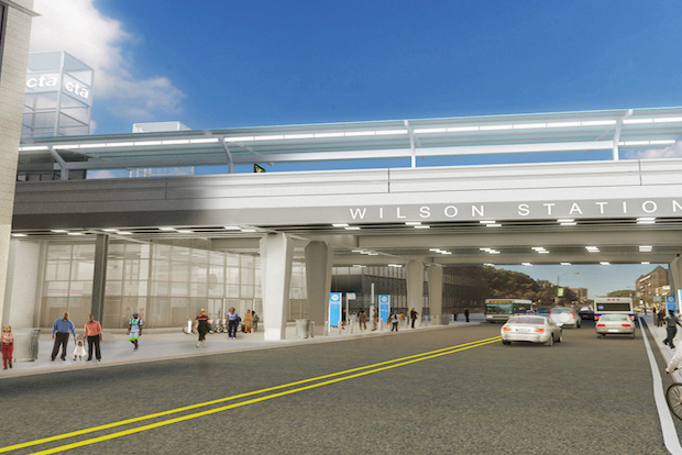 Renovation of the nearly 100-year-old Wilson Red Line station will begin this fall.