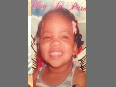 Two-year-old Armaney Cotton was beaten to death in April, allegedly at the hands of her mother's boyfriend.