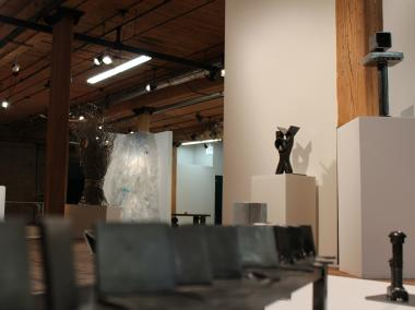 A look inside the Bridgeport Art Gallery, housed on the fourth floor the massive Bridgeport Arts Center at 1200 W. 35th St. The gallery is soliciting entries for its first-ever art competition.