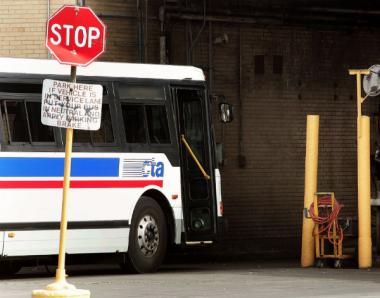 A Chicago Lawn man allegedly attacked a CTA bus driver and several passengers before a cop shot him early Saturday, police said.