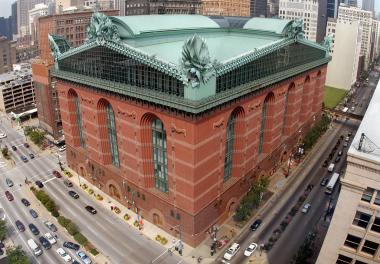 The Harold Washington Library plays host to the 10th annual Haiku Festival.