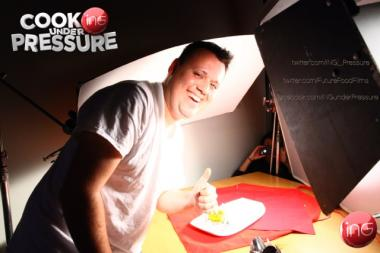 "Chef Homaro Cantu's ""Cooking Under Pressure"" premieres at 7:30 p.m Nov. 13, 2012, on YouTube."