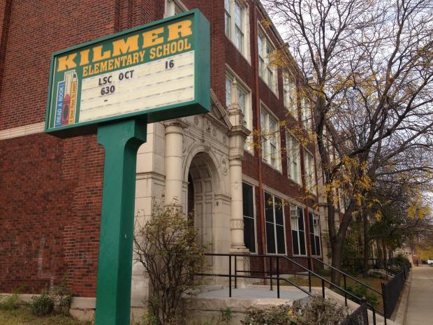 Kilmer Elementary School in Rogers Park.