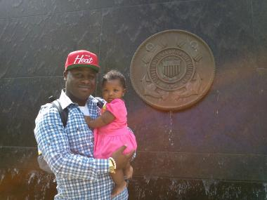 Former U.S. Coast Guard, father of infant daughter, was shot and killed on Memorial Day.