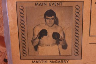 Before Martin McGarry became a well-known South Side boxing coach, he was a Golden Gloves champion, Illinois State Champion and fought professionally.