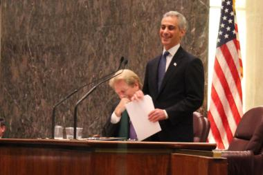 Mayor Emanuel delivered a new ethics ordinance to the City Council on Thursday.