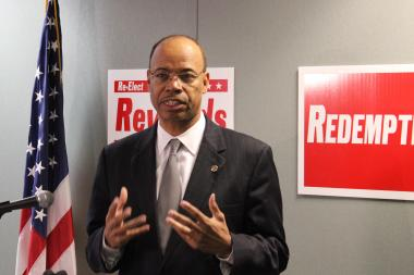 Mel Reynolds announces he's a candidate to replace Jesse Jackson Jr. in Congress Wednesday.