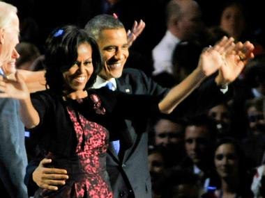 Barack and Michelle Obama will be in Chicago Wednesday.