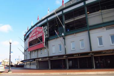 The Chicago Cubs have been playing in Wrigley Field since 1916.