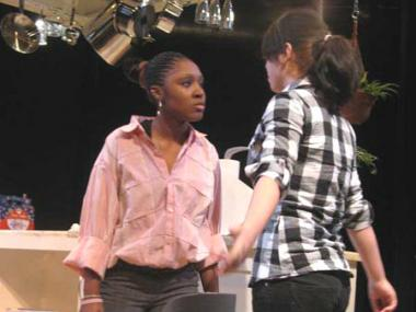 Amundsen students participate in American Theater Company's Mosaic theater education program.