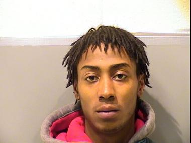 Bruce Williams, 22, faces two charges of assault, mob action and cannabis possession, police said.  He is one five men charged following a violent mob scene in the Back of the Yards neighborhood that was the response to the police shooting of Jamaal Moore, 23, who later died from his injuries.