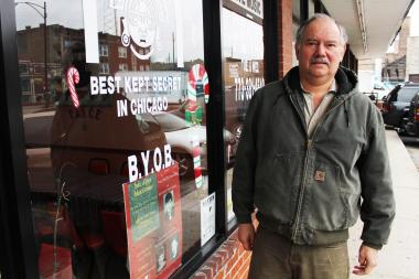 Cesar Izquierdo, who owns Taste of Peru, 6551 N. Clark St., would like to be included in a proposed special service area expansion that would cost more in taxes but bring more city services.
