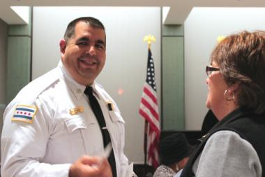 Cmdr. Jose Ramirez of the Albany Park (17th) District.