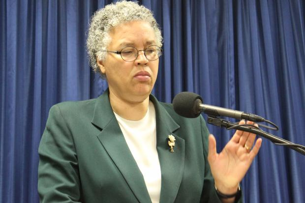 Cook County Board President Toni Preckwinkle said a reversal of the pop tax would prompt steep budget cuts to make up for lost revenue. A vote to repeal the tax could come Tuesday.