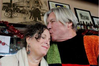 With a photo of the day they brought a rail car to River West on the wall behind them, David and Jackie Gervercer, owners of The Matchbox and The Silver Palm, plan to leave behind the tiny River West taverns to open a bed and breakfast in Mexico.