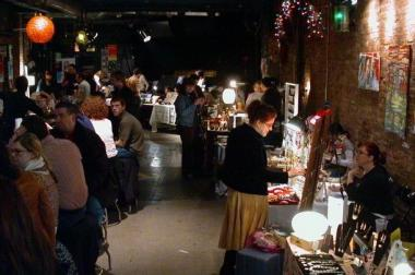 "The Empty Bottle, 1035 N Western, will play host to a Handmade Holiday Market on Saturday and a ""Pop-Up Book Fair"" on Sunday."