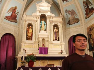 "Francis Li, priest at St. Therese Chinese Catholic Mission, and Jay Li, deacon at Chinese Christian Union Church, will present their lecture ""Chinatown's Spiritual Side"" on Saturday at the Chinese American Museum of Chicago."