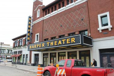 "Harper Theater was granted the right to show the Jackie Robinson biographical film ""42"" after Hyde Parkers petitioned the studio."