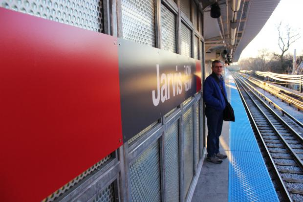 Renovations wrapped up Thursday night to greet commuters for the morning rush.