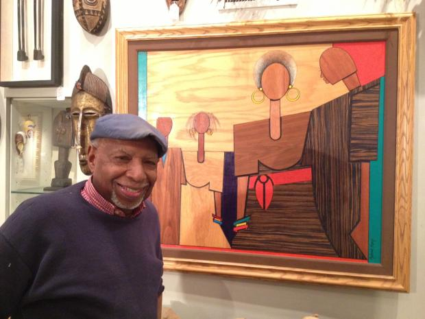 Lawrence Calvin D'Antignac, the founder and owner of the Woodshop Art Gallery in Chatham, is opening a satellite gallery in Bronzeville in February at the St. Thomas Parish House.