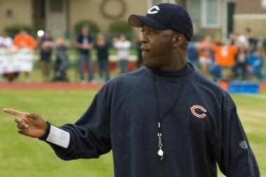 Lovie Smith was fired as head coach of the Chicago Bears after missing the playoffs for the second straight season.