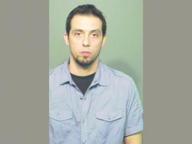 Matthew Barker, 32, of St. Charles, was charged with making a false report after texting friends he'd been kidnapped.