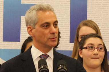 "Mayor Rahm Emanuel said he would ""study"" a proposed ordinance cutting water rates for select nonprofit groups."