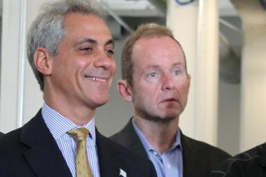 Mayor Rahm Emanuel and Ald. Tom Tunney are on opposite sides of a proposed pub-crawl ordinance.