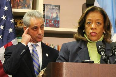 Mayor Rahm Emanuel and CPS CEO Barbara Byrd-Bennett have previously said TIF funds would be insufficient to address the $1 billion budget deficit.