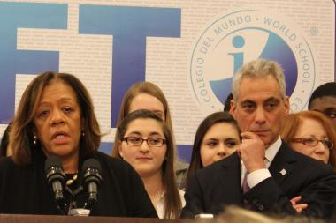 Dyett supporters want to meet with CPS CEO Barbara Byrd-Bennett and Mayor Rahm Emanuel.