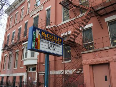 McClellan Elementary School, 3527 S. Wallace in Bridgeport, is considered underutliized by Chicago Public Schools.