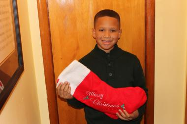 Samuel Love, 9, wants to make sure needy kids in New York have a good Christmas this year, so he organized a citywide toy drive, collected 593 toys, and on Thursday will ship them off to three New York organizations for distribution.
