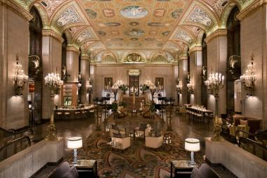 The Palmer House Hotel is a historic hotel in Chicago's Loop. The current incarnation dates back to 1925.