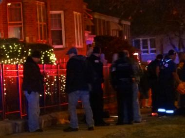 At least four males were in critical condition after being shot Christmas Eve on the Far South Side.