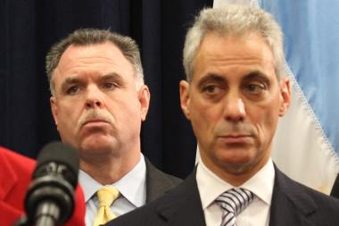 Police Supt. Garry McCarthy and Mayor Rahm Emanuel are the only people in Chicago who think the police don't need more officers, the Chicago Police union chief said.