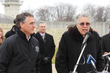 Cook County President Toni Preckwinke said she was frustrated at the county's growing prison population when she blasted Mayor Rahm Emanuel's administration for the city's ongoing violence problem last week. Dec. 10, 2012