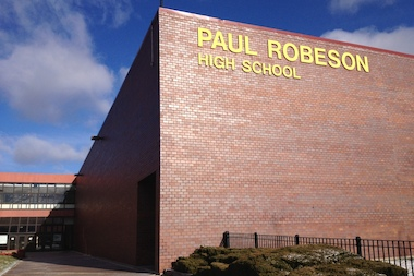 Paul Robeson High School, 6835 S. Normal Blvd., is hosting its first-ever winter coat drive through Friday. The coats will be distributed from 10 a.m.-2 p.m. Sunday.