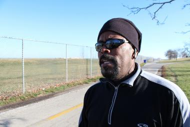 Roy Boyd said he does not feel unsafe running on the lakefront after two recent robberies.