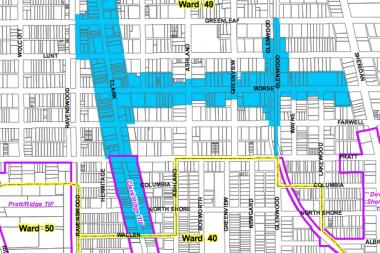 Special Service Area 24, under a new proposal, would extend south on North Clark Street to Devon Avenue. The current southern boundary is West Wallen Avenue.