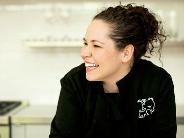 Chef Stephanie Izard opened the first phases of Little Goat Bread Thursday at 820 W. Randolph, a companion diner to her award-winning restaurant Girl & the Goat.
