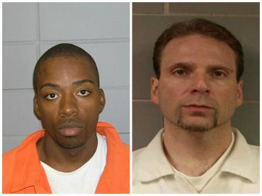 "Joseph ""Jose"" Banks, 37 (left), and Kenneth Conley, 38, allegedly escaped from the Metropolitan Correction Center in the Loop on Dec. 18, 2012."