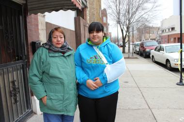 Both 16-year-old girls expressed worry for the other after being shot near their Pilsen homes on Tuesday.