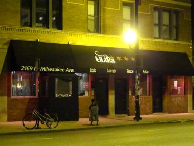 Four people were shot inside the Ultra Lounge at 2169 N. Milwaukee Ave. Dec. 5, police said.