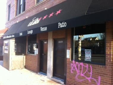 Four people were shot inside the Ultra Lounge at 2169 N Milwaukee Ave. early Wednesday morning, authorities said.