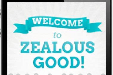 The Zealous Good iPhone app was launched Wednesday.